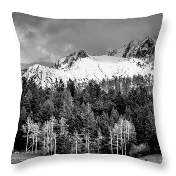 Rugged Defined Throw Pillow by The Forests Edge Photography - Diane Sandoval