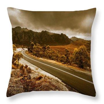Rugged Rural Retreats Throw Pillow