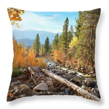 Rugged Sierra Beauty Throw Pillow