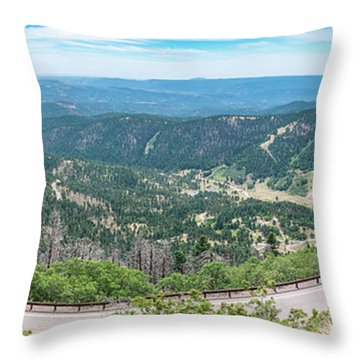 Ruidoso, Nm Panoramic Throw Pillow