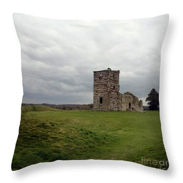 Ruin Throw Pillow
