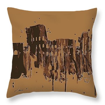 Ruins Of Rome Throw Pillow