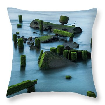 Ruins Of The Day Throw Pillow