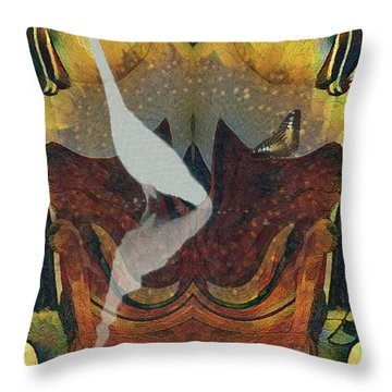 Ruling The Roost Throw Pillow