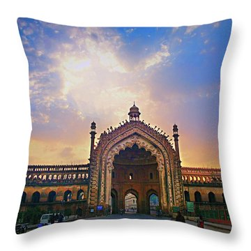 Rumi Gate Throw Pillow