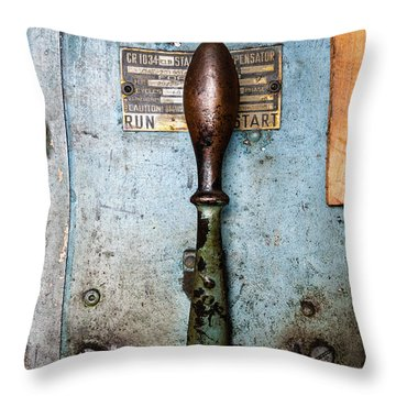 Run  Off  Start Portland Company Building Portland Me  -24631 Throw Pillow