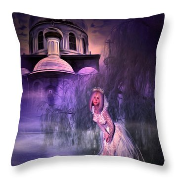 Runaway Bride Throw Pillow by Svetlana Sewell