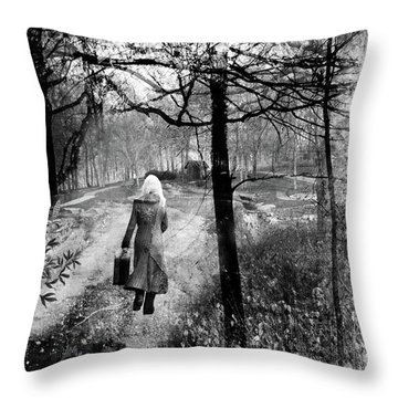 Runaway Throw Pillow