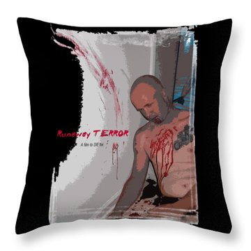 Runaway Terror 2 Throw Pillow