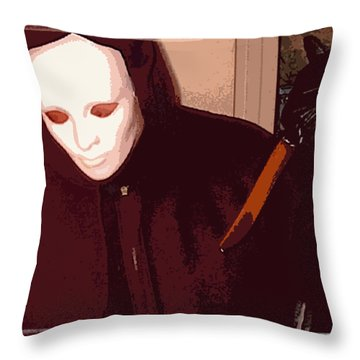 Runaway Terror 4 Throw Pillow