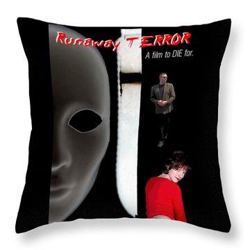 Runaway Terror 5 Throw Pillow