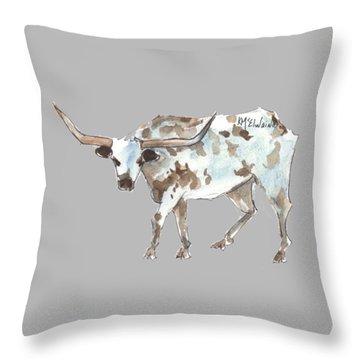 Running Back Texas Longhorn Lh070 Throw Pillow