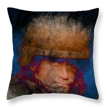 Running On Faith Throw Pillow