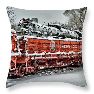 Running Out Of Steam Throw Pillow