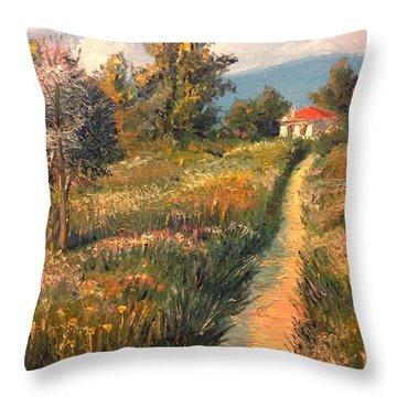 Rural Idyll Throw Pillow
