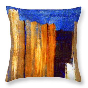Rural Landscape 1.1 Throw Pillow by VIVA Anderson