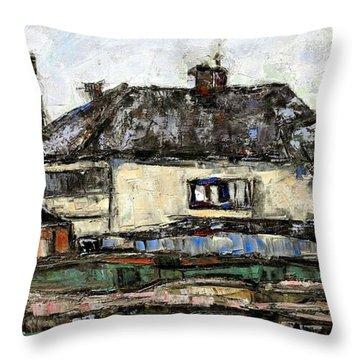 Rural Landscape 21 Throw Pillow