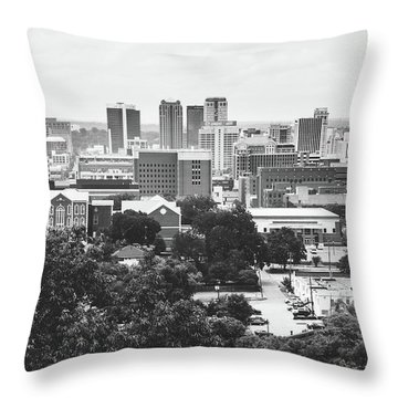 Throw Pillow featuring the photograph Rural Scenes In The Magic City by Shelby Young