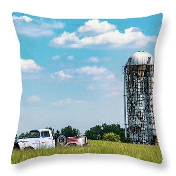 Rural Throw Pillow