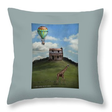 Rural World Throw Pillow