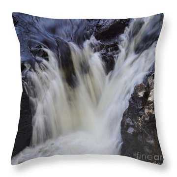 Rushing Throw Pillow by Aimelle