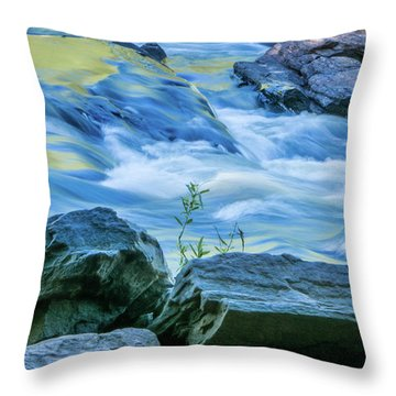 Rushing Creek Throw Pillow