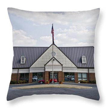 Russell Regional Airport Throw Pillow