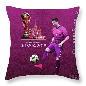 Russia 2018 World Cup  Throw Pillow
