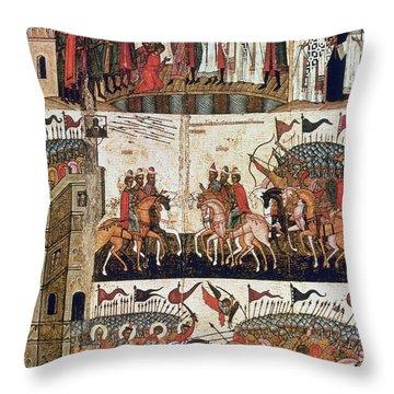 Russia: Novgorod Throw Pillow by Granger