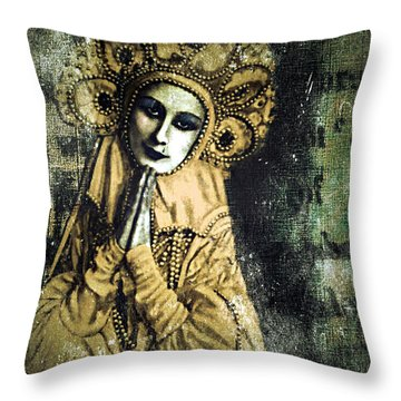 Russian Icon Throw Pillow