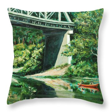 Russian River Throw Pillow