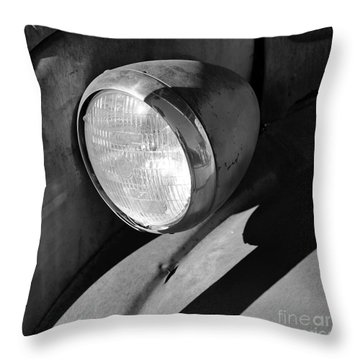 Rust And Chrome II Throw Pillow