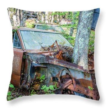 Rust Away Throw Pillow