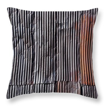 Rust Throw Pillow by Kelley King