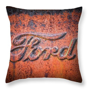 Rust Never Sleeps - Ford Throw Pillow