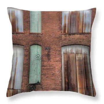 Rust Never Sleeps Throw Pillow by Jane Linders
