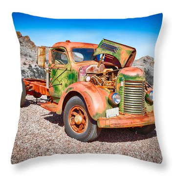 Rusted Classics - The International Throw Pillow