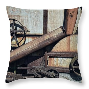 Rusted In Time Throw Pillow