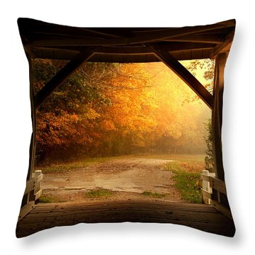 Rustic Beauty 2.0 Throw Pillow
