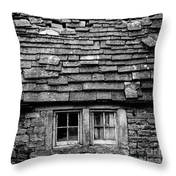 Rustic Cottage Throw Pillow