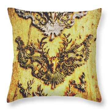Intricate Throw Pillows