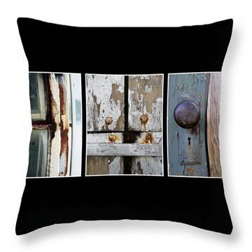 Throw Pillow featuring the photograph Rustic Elements by Patricia Strand