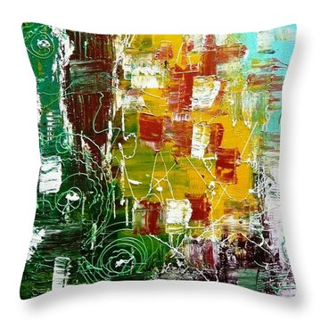 Rustic Momentz Throw Pillow