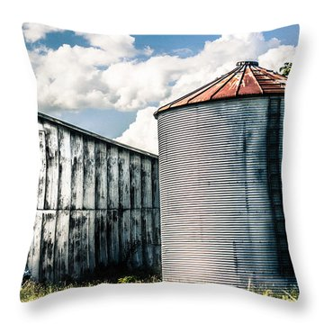 Rustic Throw Pillow by Parker Cunningham