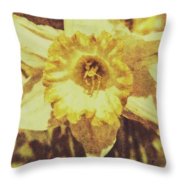 Rustic September Throw Pillow