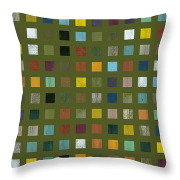 Rustic Wooden Abstract Lx Throw Pillow