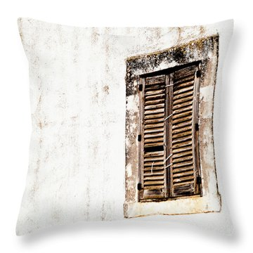 Finestra Rustica Throw Pillow