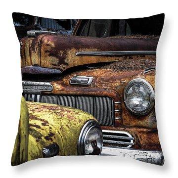 Rusting Away ... Throw Pillow