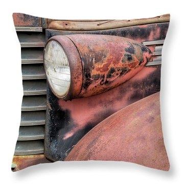 Rusty Classic Throw Pillow