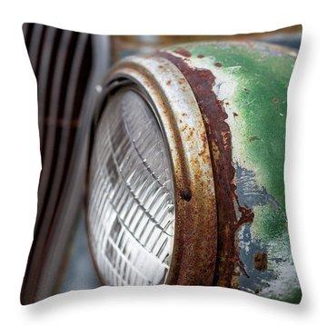 Rusty Detail Throw Pillow